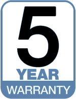 Predator 5 Year Warranty