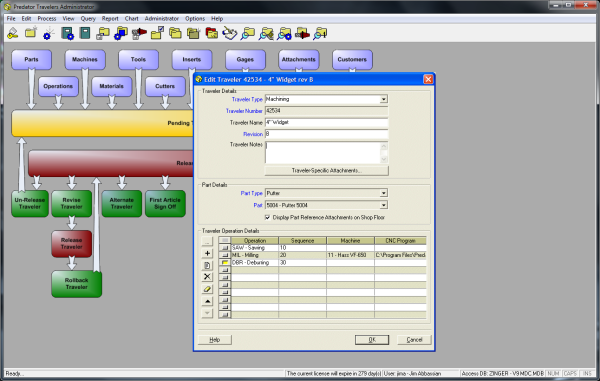 Predator Travelers Software Overview